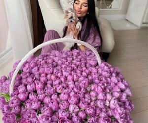 flowers, luxury, and vogue image