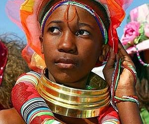 south africa, world ethnic, and cultural beauties image
