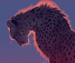 animal, cheetah, and beautiful image