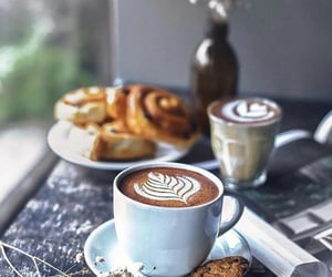 cafe, coffee, and drinks image