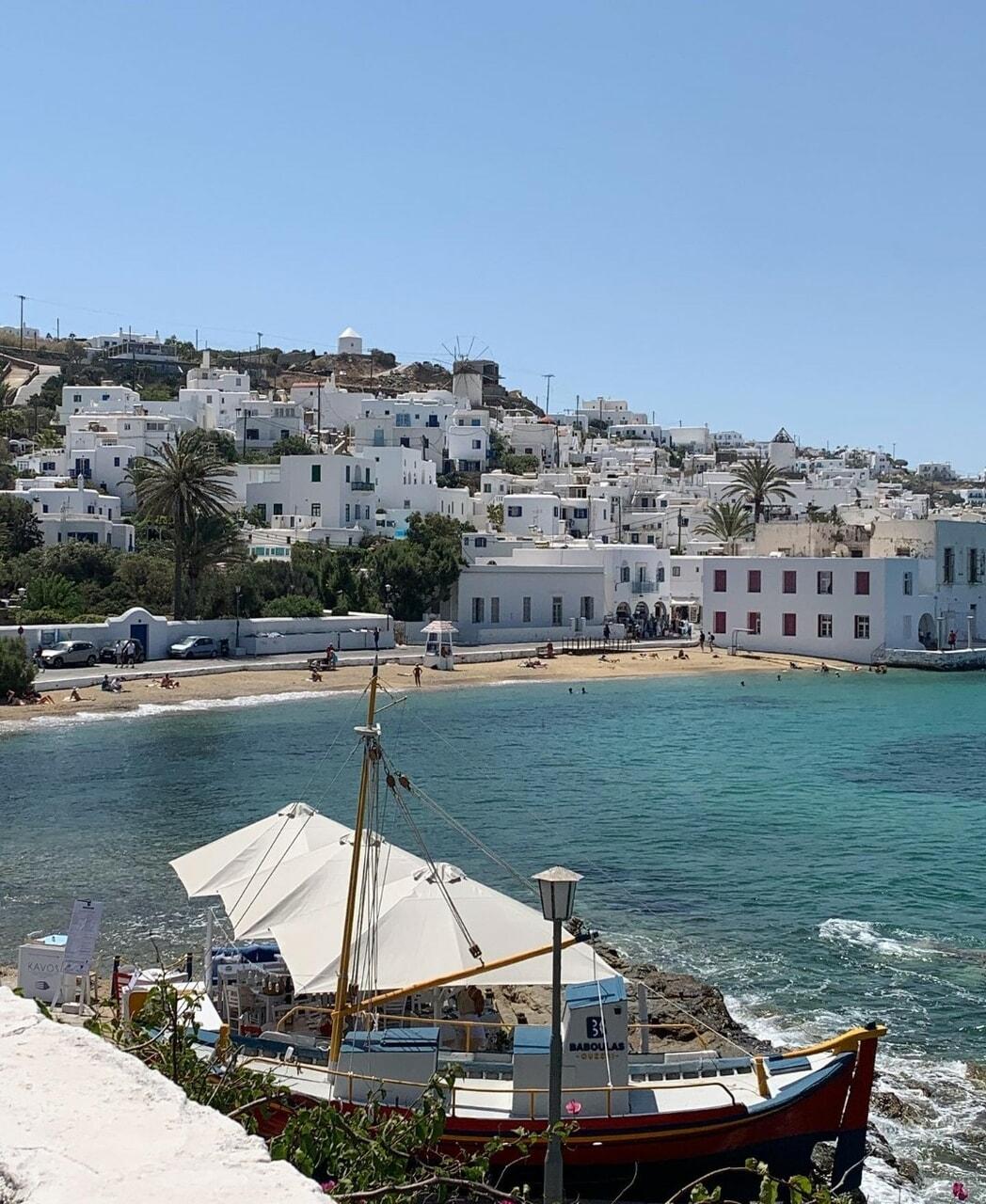 boats, Greece, and pretty image