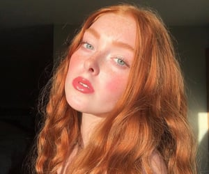 beauty, femme, and freckles image