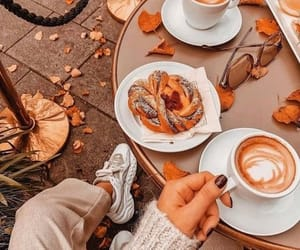 autumn and coffee image