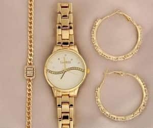 watch and rose gold watch image