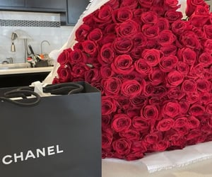 flowers, roses, and chanel image