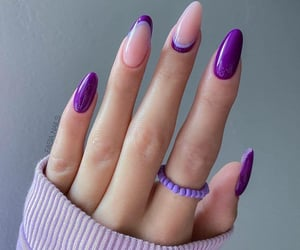 fashion, girl, and nail art image