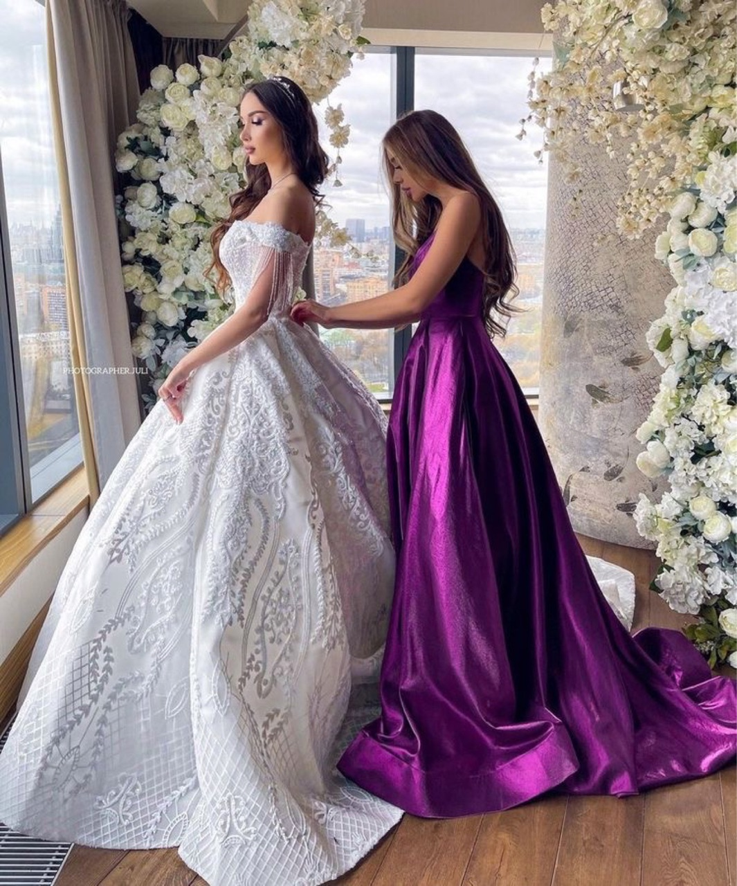 beautiful, luxurious, and bride image
