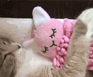 adorable, pink, and animals image