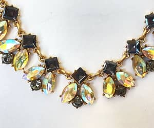 bead necklace, jcrew, and mid century necklace image