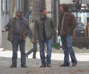 dean winchester, Jensen Ackles, and jared padalecki image
