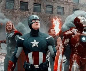Avengers, chrisevans, and brucebanner image