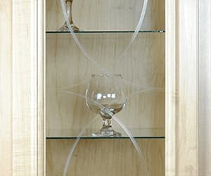 custom glass, cabinet glass, and gym mirror online image