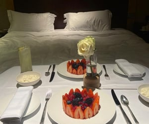berries, room service, and blueberry image