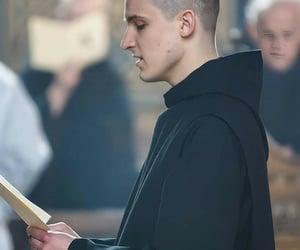 abbey, Catholic, and monk image