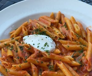 feed, meat, and pasta image
