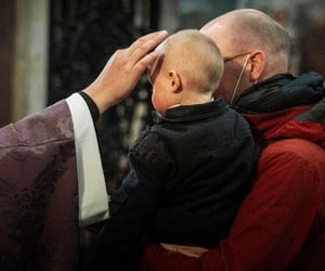 babies, blessing, and catholicism image