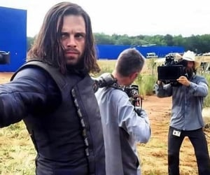 Avengers, behind the scenes, and Marvel image