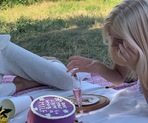 aesthetic, cake, and cottage image