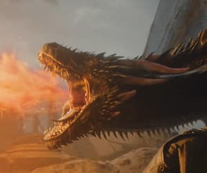 dragon, game of thrones, and a song of ice and fire image
