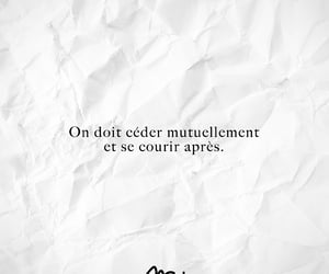 quote, francais, and french image