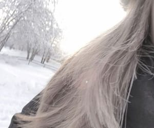 aesthetic, icon, and snow image
