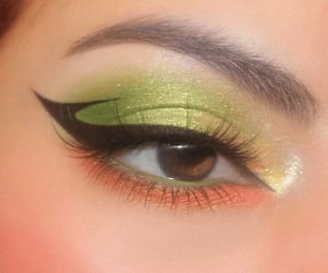 aesthetic, glam, and green image