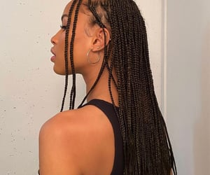 braids, women, and girls image