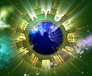 article, astrology, and horoscope image