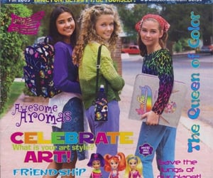 aesthetic, lisa frank, and magazine cover image