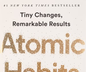 book, atomic habits, and eBook image