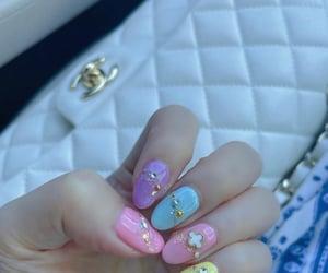 acrylic and nails image