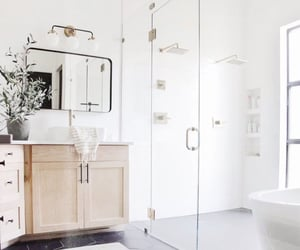 bathrooms, marble, and design image
