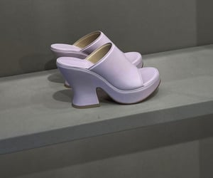 high heels, pastel colors, and fashionista fashionable image