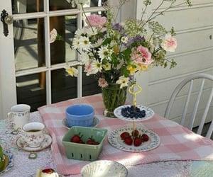 cake, cottage, and dessert image