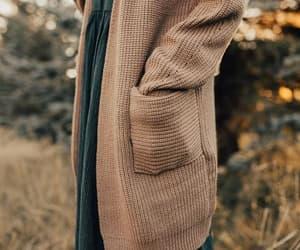 cardigan, fall, and fashion image