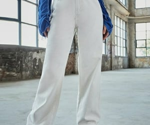 blanco, denim, and fashion image