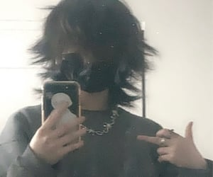 aesthetic, emo, and cyber image