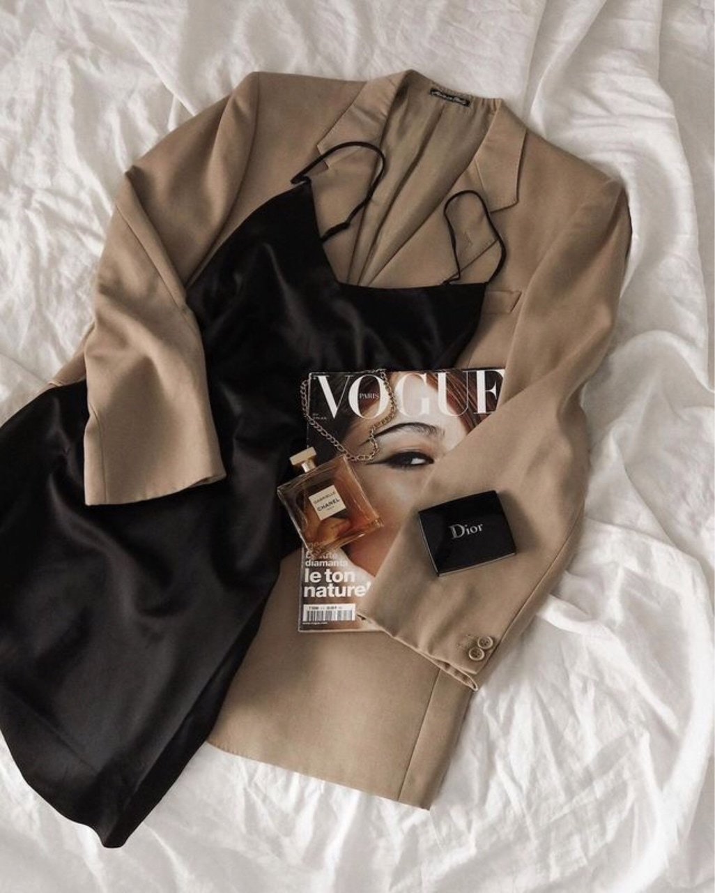 beauty, fall, and beige image