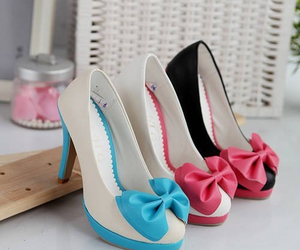 beauty, color, and high heels image