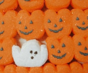 ghosts, halloween food, and Halloween image