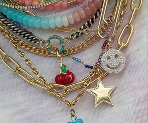 accessories, fashion, and necklaces image