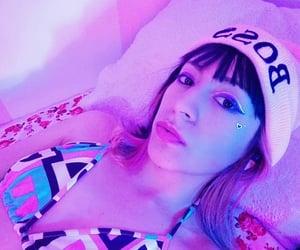boss, aesthetic, and neon image