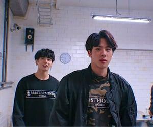 jin, bangtan, and jeon jungkook image