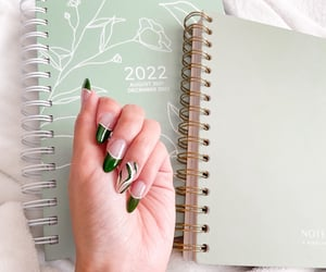 acrylics, autumn, and journal image