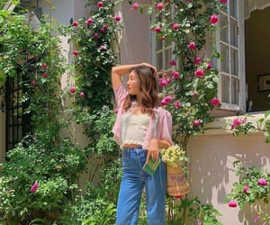 fashion, flowers, and french image