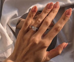 nail polish, silver, and vernis image