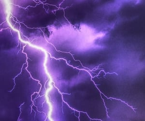 lightning, storm, and weather image