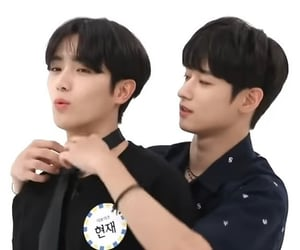 juyeon, hyunjae, and weekly idol image