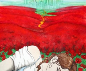 dorothy, wars, and poppies image