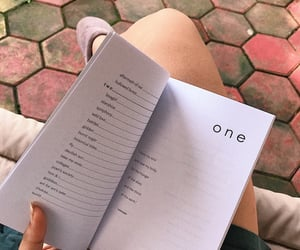 aesthetic, book, and poem image